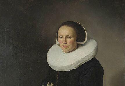 Govert Flinck, Bildnis einer Dame, 1638/40 ©Hessisches Landesmuseum Darmstadt, Foto: Wolfgang Fuhrmannek