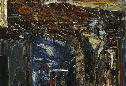 Max Slevogt, Bazar in Assuan I, 1914, Hessisches Landesmuseum Darmstadt Foto: Wolfgang Fuhrmannek