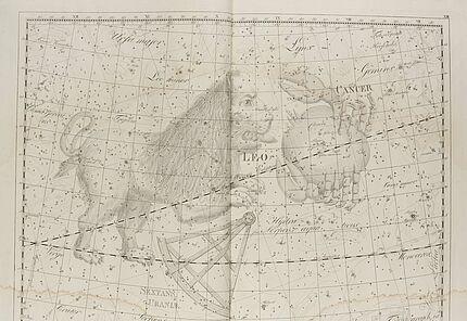 Johann Elert Bode, Sternenatlas Uranographia, 1801, Tafel XIII., Kupferstich