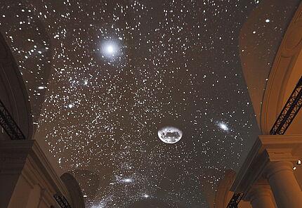 """""""ROSETTA - Europas Kometenjäger"""" Ausstellungsansicht, Foto: Wolfgang Fuhrmannek, HLMD"""