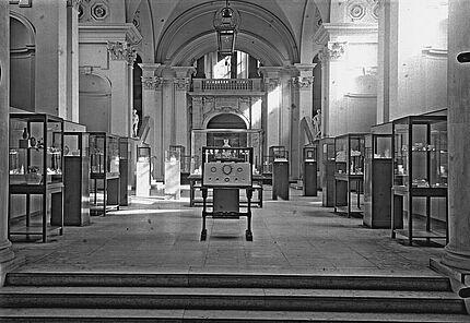 Aus dem Archiv des HLMD: Haupthalle 1935