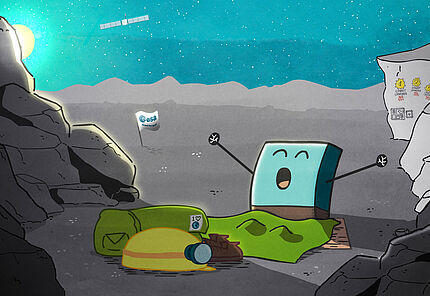 Philae wakes up © ESA