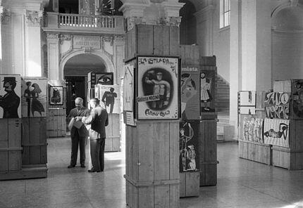 Aus dem Archiv des HLMD: Haupthalle 1960