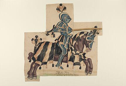 Thesaurus Picturarum, Turnier zur Hochzeit von Johann Casimir, Bd4,Blatt85a©ULB