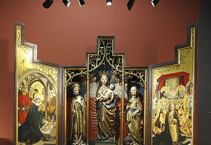 Meister des Wolfskehler Altars, Der Wolfskehler Altar, Mittelrhein, 1490/1500