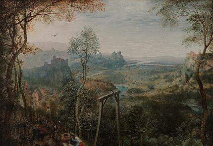 Pieter Bruegel d. Ä., Die Elster auf dem Galgen, 1568