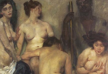 Lovis Corinth, Der Harems Szenerie, 1904, Foto: Wolfgang Fuhrmannek
