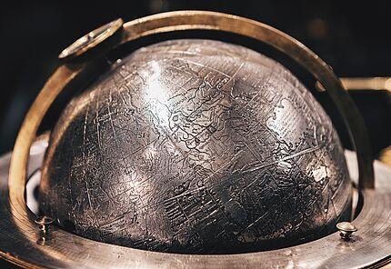 Himmelsglobus, um 1593 (Ausschnitt), Foto: @portermcknight