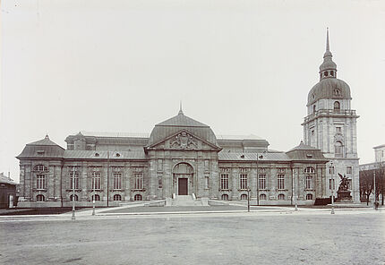 Aus dem Archiv des HLMD: Aussenansicht um 1906