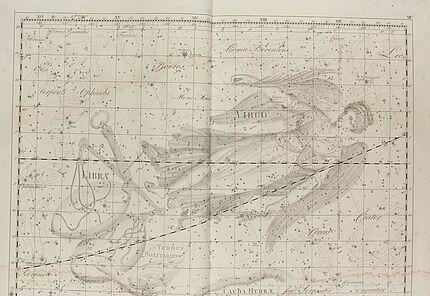 Johann Elert Bode, Sternenatlas Uranographia, 1801, Tafel XIV., Kupferstich