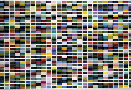 Gerhard Richter, 1024 Farben, 1973 © Gerhard Richter 2016