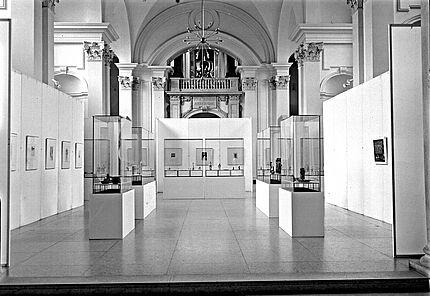 Aus dem Archiv des HLMD: Haupthalle 1962