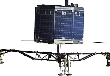 Philae Artist's impression of the Philae lander, on a transparent background. © ESA/ATG medialab