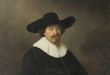 Govert Flinck, Bildnis eines Herrn, 1638/40 ©Hessisches Landesmuseum Darmstadt, Foto: Wolfgang Fuhrmannek