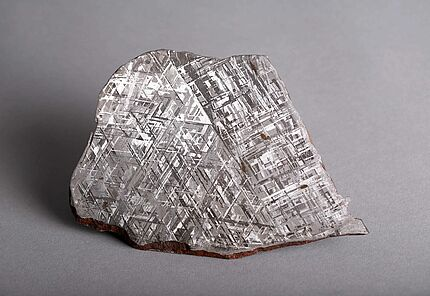 Eisen-Meteorit,  Gibeon, Privatsammler, Foto: Marisa Blume, HLMD