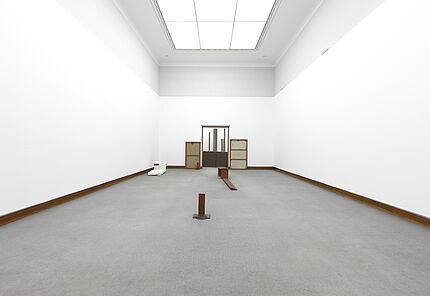Joseph Beuys, Transsibirische Bahn, 1961 / LICHAMEN, 1967, Block Beuys, Raum 1 © VG Bild-Kunst, Bonn, 2020
