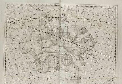 Johann Elert Bode, Sternenatlas Uranographia, 1801, Tafel XVI., Kupferstich