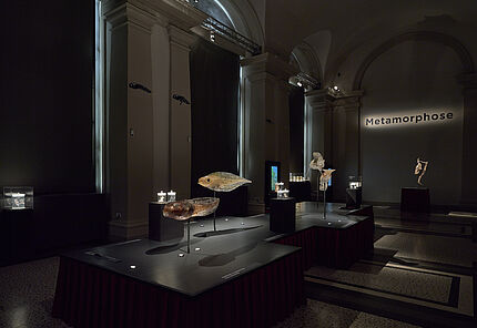 Blick in die Ausstellung »Stages – Episoden des Lebens«, Foto: Wolfgang Fuhrmannek, HLMD
