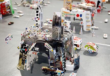 Marion Eichmann, TOKYO MONO (Überlagerungen), 2004, Besitz der Künstlerin