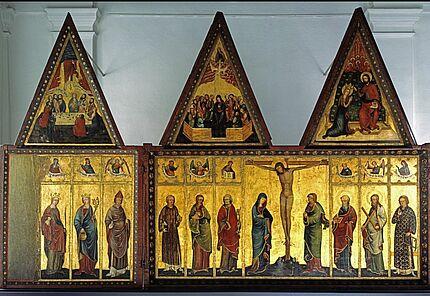 Meister des Großen Friedberger Altars, Der Große Friedberger Altar, Mittelrhein, um 1360