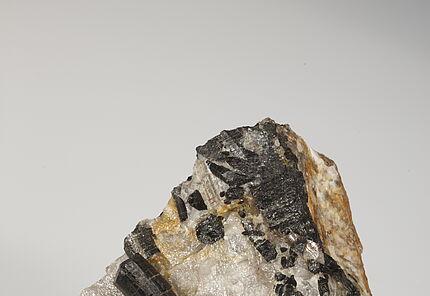 Turmalinkristall, Groß Bieberau, Odenwald