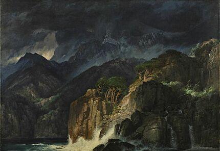 Arnold Böcklin, Prometheuslandschaft, 1885